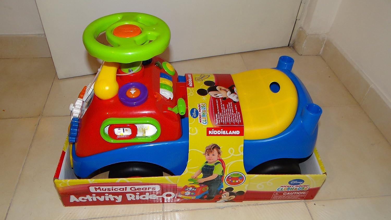 ¡No dudes! ¡Compra ahora! Mickey and Friends  Activity Pinball Ride Ride Ride On by Kiddieland  nuevo sádico