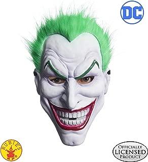 Rubie's Mens Joker Clown Mask Costume Mask One Size