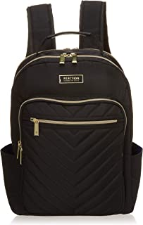 "Kenneth Cole Reaction Women's Chevron Quilted Polyester Twill 15.6"" Laptop Backpack Backpack"