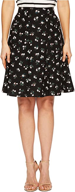 Kate Spade New York - Flora Crepe Skirt