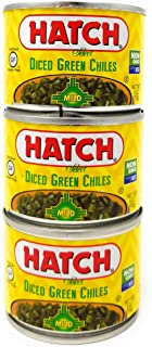 Hatch Farms Fire-roasted Diced Green Chiles Mild – Pack of 3