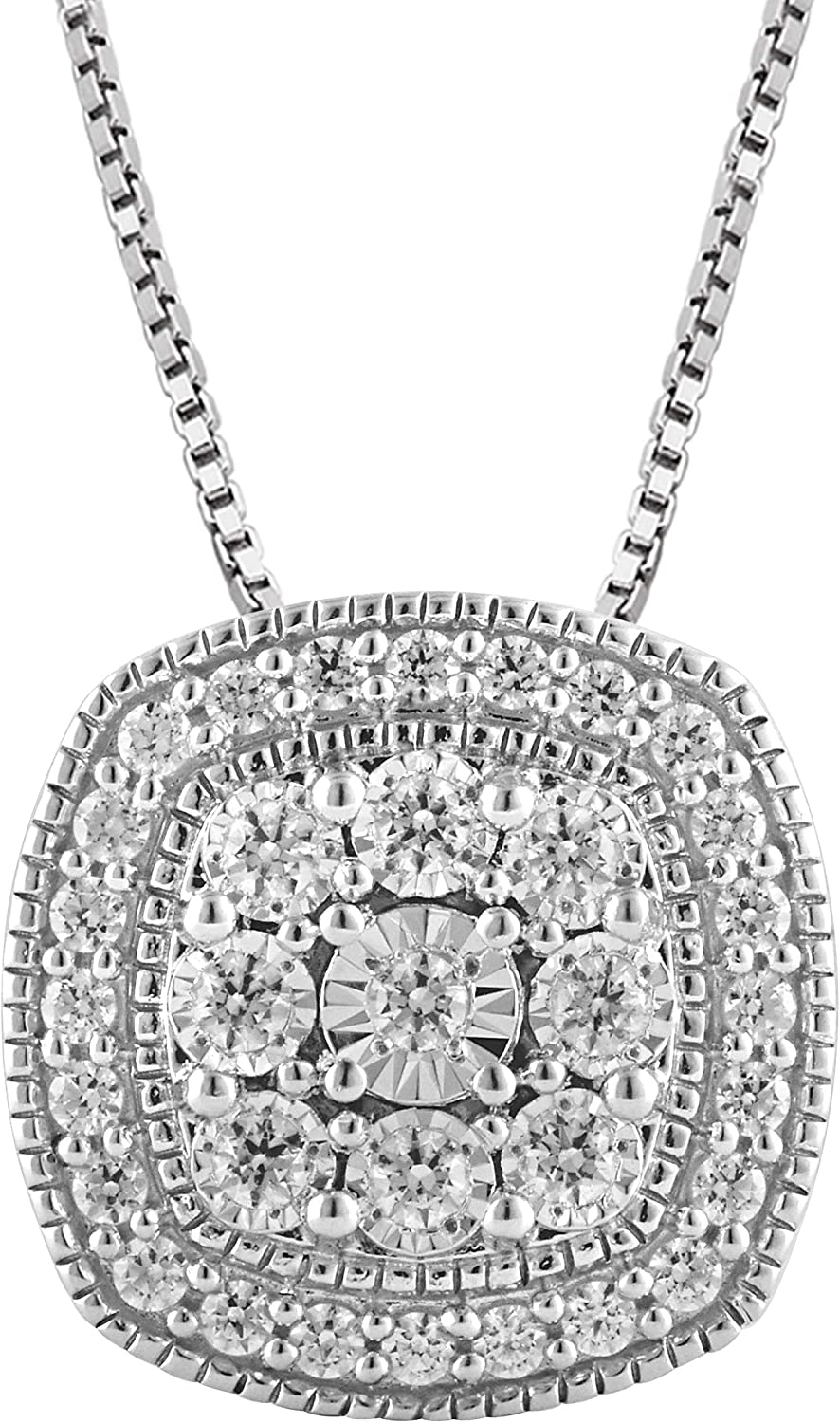 1 2 Carat Stunning Diamond Pave-Set Very popular 925 Sterling Round-C sold out Silver