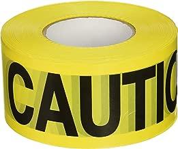 CH Hanson 1000 ft. Caution Caution Barricade Tape 2 mil