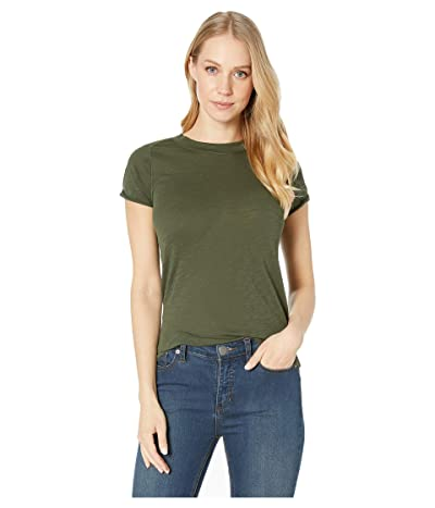 Free People Night Sky Tee Solid (Army) Women