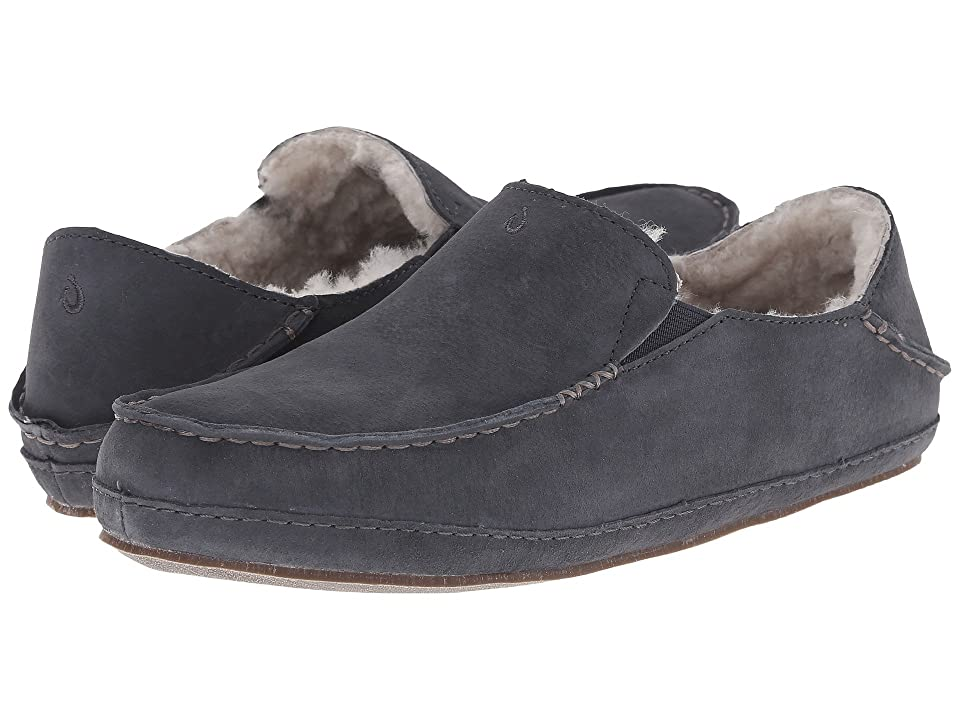 OluKai Nohea Slipper (Dark Shadow/Dark Shadow) Women