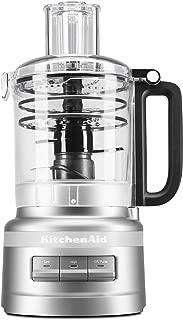 KitchenAid KFP0919CU 9 Cup Plus Food Processor, Contour Silver