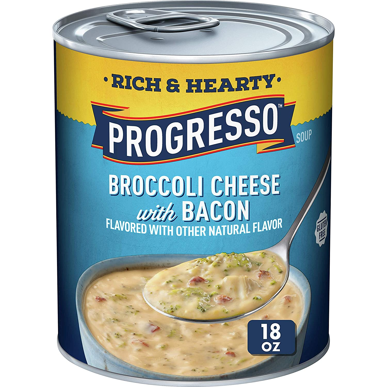San Antonio Mall Progresso Rich Hearty Broccoli Cheese oz 18 Award-winning store Soup Bacon with