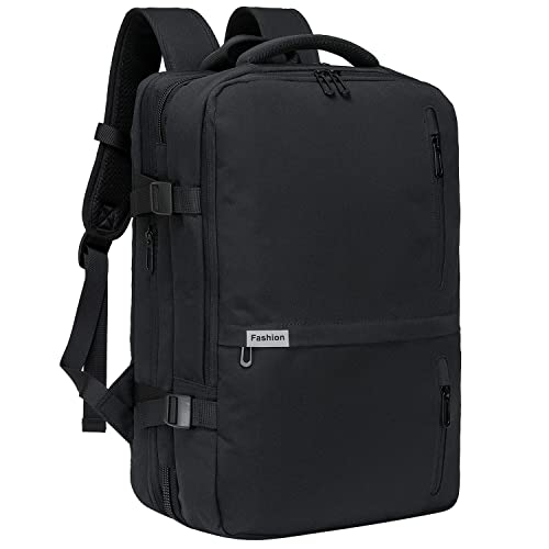 9542d134027 Travel Laptop Backpack 35L Flight Approved Carry On Weekender Bag Backpack  expandable with USB Charging Port