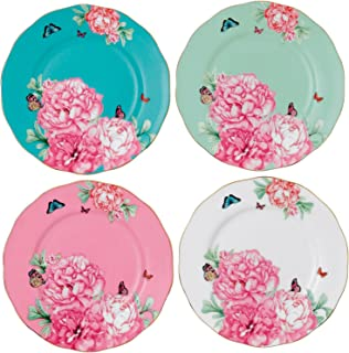 Royal Albert 40001825 Friendship Accent Plate Designed by Miranda Kerr, 8-Inch, Set of 4