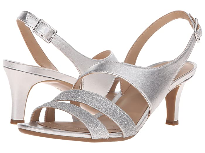 Naturalizer Taimi (Silver Pearlized/Glitter) High Heels