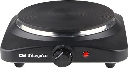 Orbegozo PE 2850 2850-Placa eléctrica Doble, 2500 W, Negro