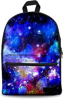 Cool Galaxy Print Shoulders School Backpack Kid Stylish Durable Book Bags C4312J