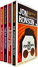 Jon Ronson 4 Books Bundle Collection Set (The Psychopath Test, So You've Been Publicly Shamed, Them: Adventures With Extre...