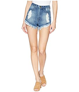 Wyoming High-Waisted Shorts