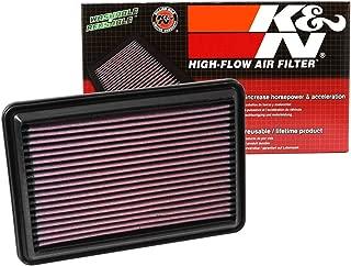 Lavable y Reutilizable K/&N 33-2997 Filtro de Aire Coche