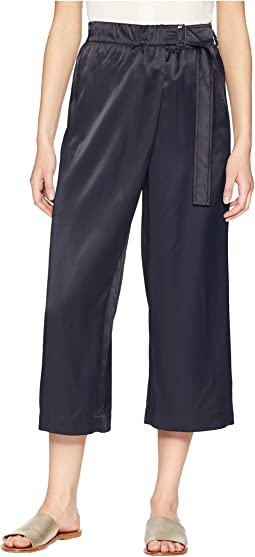 Belted Cross-Over Culottes