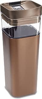 Precidio Design 5016BR Kafe in the Box Splashproof and Ecofriendly Reusable Coffee Mug/Travel Mug - 16 oz, Bronze