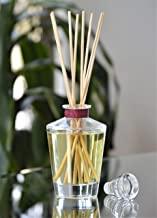 Manu Home Fresh Fig Reed Diffuser Oil Set~ Enjoy Any Season with an invigorating Scent of Fig, Tea Leaf, Cream Cassis, Soft Cashmere and a hint of Sandalwood ~ 4 oz Reusable Bottle~