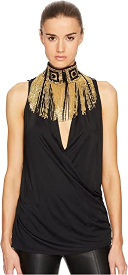 Versace Collection - Donna Jersey Sleeveless Top