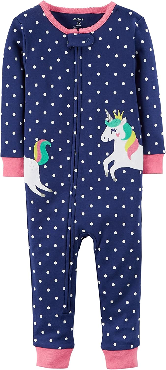 1 Piece Baby snug fit Cotton Baby Girl Navy