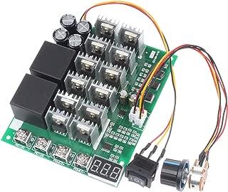 NOYITO PWM Motor Speed Controller 60A DC 10V-55V 12V 24V 36V 48V Digital Display 100A Max Brush DC Motor Controller - Third gear Forward Reverse Stop