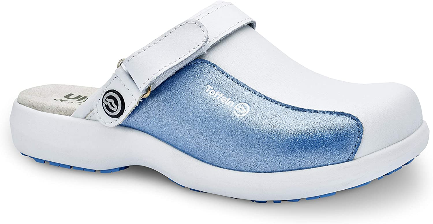 World of Clogs  Toffeln Ultra Lite 0696 - Shiny bluee