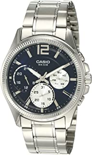 Casio Casual Watch Analog Display for Men MTP-E305D-2A
