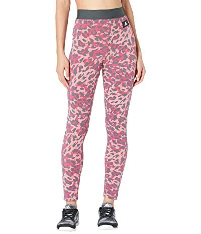 adidas All Over Print Cotton Tights Women