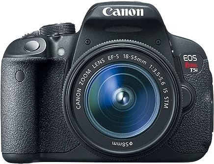 Câmera Digital Canon Dslr Eos Rebel T5i 18 Megapixels Com Lente Ef-S 18-55mm Stm
