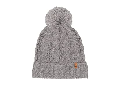 tentree Atlin Pom Beanie (High-Rise Grey Marled) Beanies