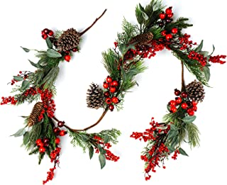 CraftMore Pine and Pomegranate Christmas Garland