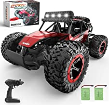 BEZGAR 17 Toy Grade 1:14 Scale Remote Control Car, 2WD High Speed 20 Km/h All Terrains Electric Toy Off Road RC Monster Ve...