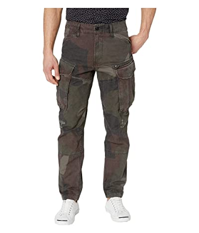 G-Star Rovic Zip 3D Straight Tapered Jeans in Grey/Asfalt All Over (Grey/Asfalt All Over) Men