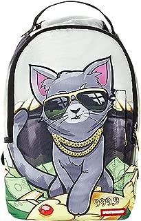 Sprayground Lil Kitten Facepack (O/S, Grey/Multi)