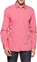 Relish Shirts Men's Regular Fit Cotton Casual Shirt Long Sleeves |Pink|L(40),XL(42)