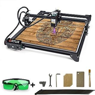 ORTUR Laser Master 2,Laser Engraver,Laser Engraving Cutting Machine,DIY Laser Marking for Metal ,Compresed Spot CNC,32-bit...