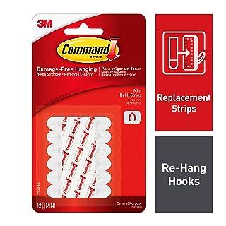 Command Refill Strips, Medium, Small 12-Strips