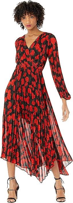 Dark Floral Long Dress