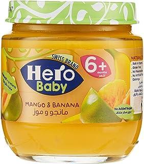 Hero Baby Mango Banana Jar , 170751 , 125g
