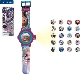 Frozen 2 - La Reine des Neiges 2 Montre Bracelet Ajustable écran Digital avec 20 Projections de Elsa, Anna et Olaf - pour ...
