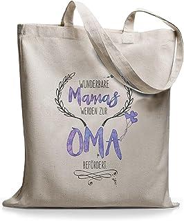 StyloBags Jutebeutel/Tasche Wunderbare Mamas werden zur Oma befördert