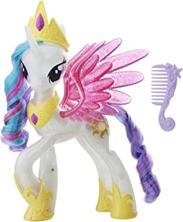 My Little Pony the Movie Glitter and Glow Princess Celestia Unicorn Toy Pony Figure
