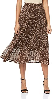 French Connection Women's Pleated MIDI Skirt