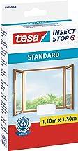 tesa Insect Stop Standard Vliegenhor voor Ramen - Insectenhor, raamhor - Met klittenband - Snij uw eigen horraam op maat -...