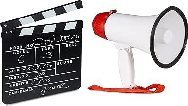 Auplew Mini Megaphon Lautsprecher Kinder Simulation Pretend Feuerwehr Creative Artificial Spielzeug Megaphon f/ür M/ädchen Jungen