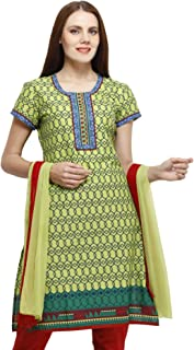 Ethnic Label Women's Cotton Salwar Suit