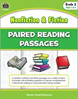 Nonfiction and Fiction Paired Reading Passages - Grade 2 (Book 1)
