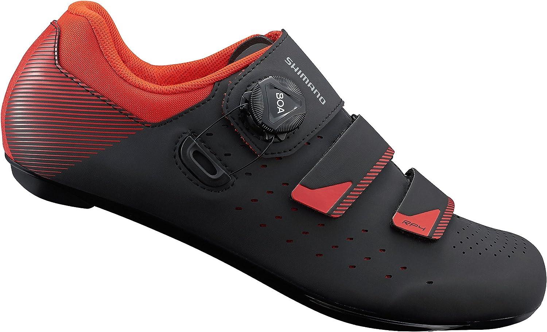 SHIMANO SH-RP400 schuhe schwarz Orange rot 2019 Schuhe