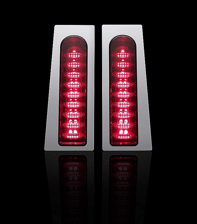 Custom Dynamics PB-FILL-S-B Black//Smoke ProBeam Fillerz Saddlebag LED Lights