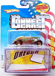 Hot Wheels Connect Cars Oregon 1933 Ford with Display Case 1:64 Scale